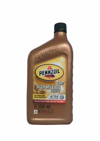 Моторное масло PENNZOIL High Mileage Vehicle SAE 10W-40 (0,946л)