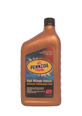 Трансмиссионное масло PENNZOIL High Mileage Vehicle ATF (0,946л)