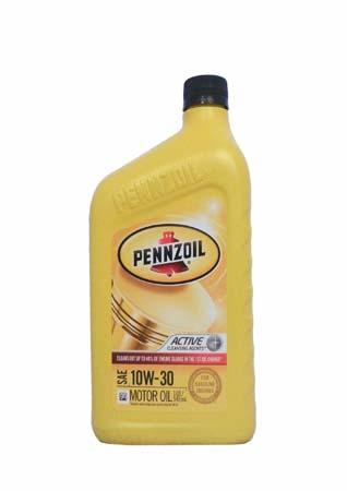 Моторное масло PENNZOIL SAE 10W-30 (0,946л)