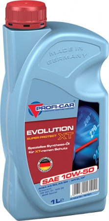 PROF 10W50 (1 L) Evolution XT SAE_масло моторное!\ API: SL/CF PROFI-CAR 16121