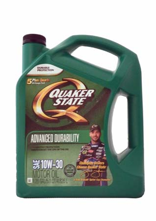 Моторное масло QUAKER STATE Advanced Durability SAE 10W-30 (4,826л)