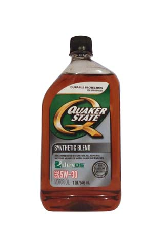 Моторное масло QUAKER STATE Synthetic Blend dexos 1 SAE 5W-30 (0,946л)