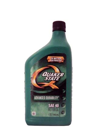 Моторное масло QUAKER STATE Advanced Durability SAE 40 (0,946л)