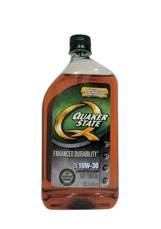Моторное масло QUAKER STATE Enhanced Durability SAE 10W-30 (0,946л)