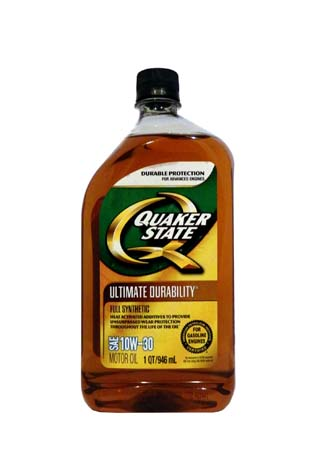 Моторное масло QUAKER STATE Ultimate Durability SAE 10W-30 (0,946л)**
