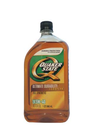 Моторное масло QUAKER STATE Ultimate Durability European SAE 5W-40 (0,946л)