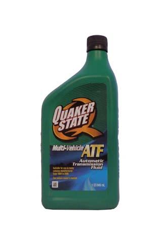 Трансмиссионное масло QUAKER STATE Multi-Vehicle ATF (0,946л)