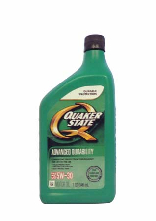 Моторное масло QUAKER STATE Advanced Durability SAE 5W-30 (0,946л)