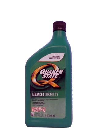 Моторное масло QUAKER STATE Advanced Durability SAE 20W-50 (0,946л)