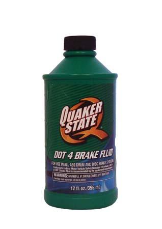 Тормозная жидкость QUAKER STATE DOT-4 (0,355л)