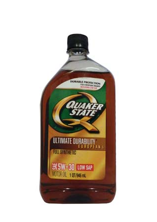 Моторное масло QUAKER STATE Ultimate Durability European L SAE 5W-30 (0,946л)
