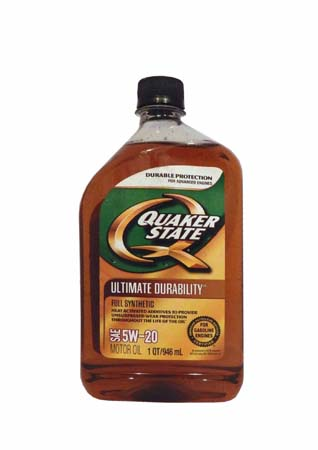Моторное масло QUAKER STATE Ultimate Durability SAE 5W-20 (0,946л)
