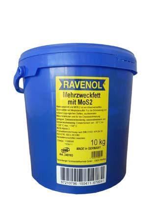 Смазка RAVENOL Mehrzweckfett m.MOS 2 (10кг)