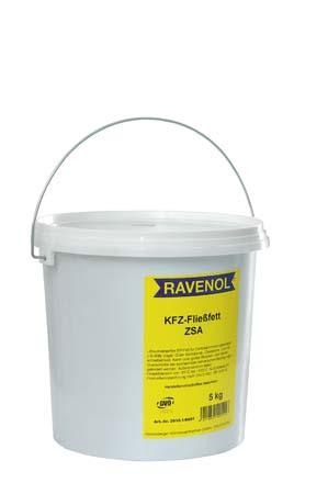 Смазка для централиз. систем RAVENOL KFZ-Fliessfett ZSA (5кг)