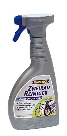 Очиститель 2-х колесной техники RAVENOL Zweirad Reiniger (0,5л)