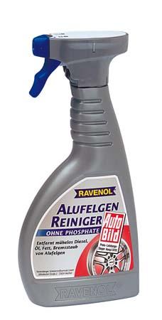 Полироль для алюм дисков RAVENOL Alu-Felgen-Reiniger intensiv (0,5л)