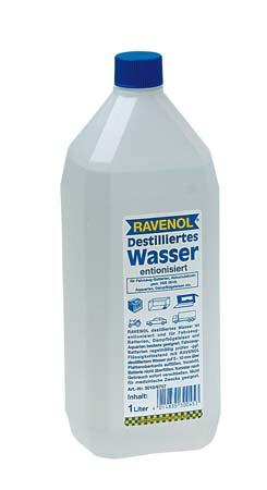 Дистиллированная вода RAVENOL destilliertes Wasser (1л)