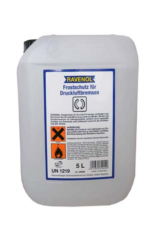 Антифриз бесцветн RAVENOL Frostschutz f?r Druckluftbremsen ( 5л)