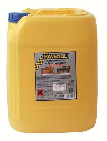 Антифриз концентрат желтый RAVENOL Alu-Kuehlerfrostschutz nitritfrei (20л)