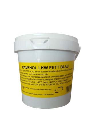 Смазка RAVENOL LKW Fett Blau ( 1кг)