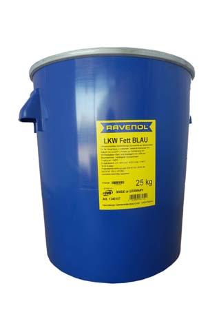 Смазка RAVENOL LKW Fett Blau (25кг)