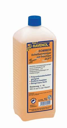 Омыватель летний концентрат RAVENOL Sommerscheibenr.Konz. 1:10 (1л)