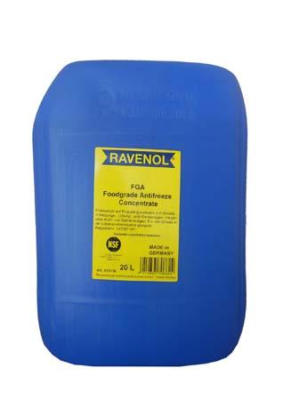 Антифриз концентрат бесцветн.пищевой RAVENOL FGA (20л)