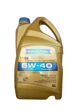 Моторное масло RAVENOL VSI SAE 5W-40 ( 5л) new
