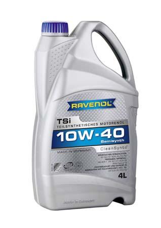 Моторное масло RAVENOL TSI SAE 10W-40 ( 4л) new