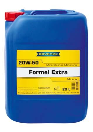 Моторное масло RAVENOL Formel Extra SAE 20W-50 SF-CD (20л) new