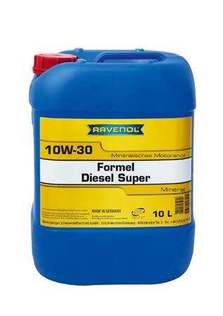 Моторное масло RAVENOL Formel Diesel Super 10W-30 (10л) new