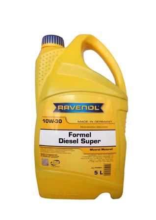 Моторное масло RAVENOL Formel Diesel Super 10W-30 ( 5л) new
