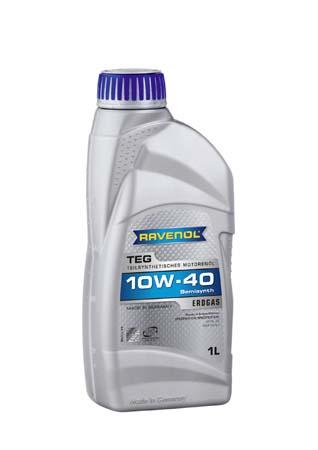 Моторное масло RAVENOL TEG SAE 10W-40 ( 1л) new