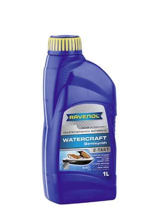 Моторное масло для 2-Такт RAVENOL Watercraft Teilsynth. 2-Takt (1л) new