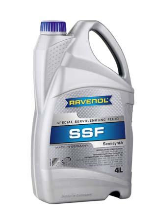 Жидкость для гидроусилителя RAVENOL SSF Spec. Servolenkung Fluid (4л) new