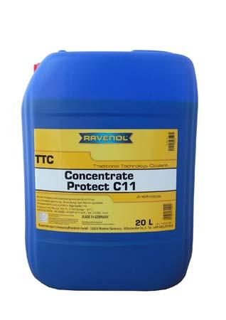 Антифриз концентрат жёлтый RAVENOL TTC Traditional Technology Coolant Concent (20л)
