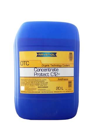 Антифриз концентрат лила RAVENOL OTC Organic Technology Concentrate (20л)
