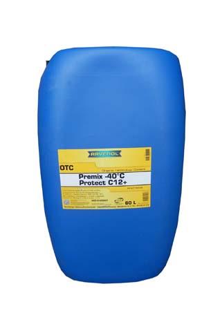 Антифриз готовый к прим. лила RAVENOL OTC Organic Techn.Coolant Premix -40°C (60л)