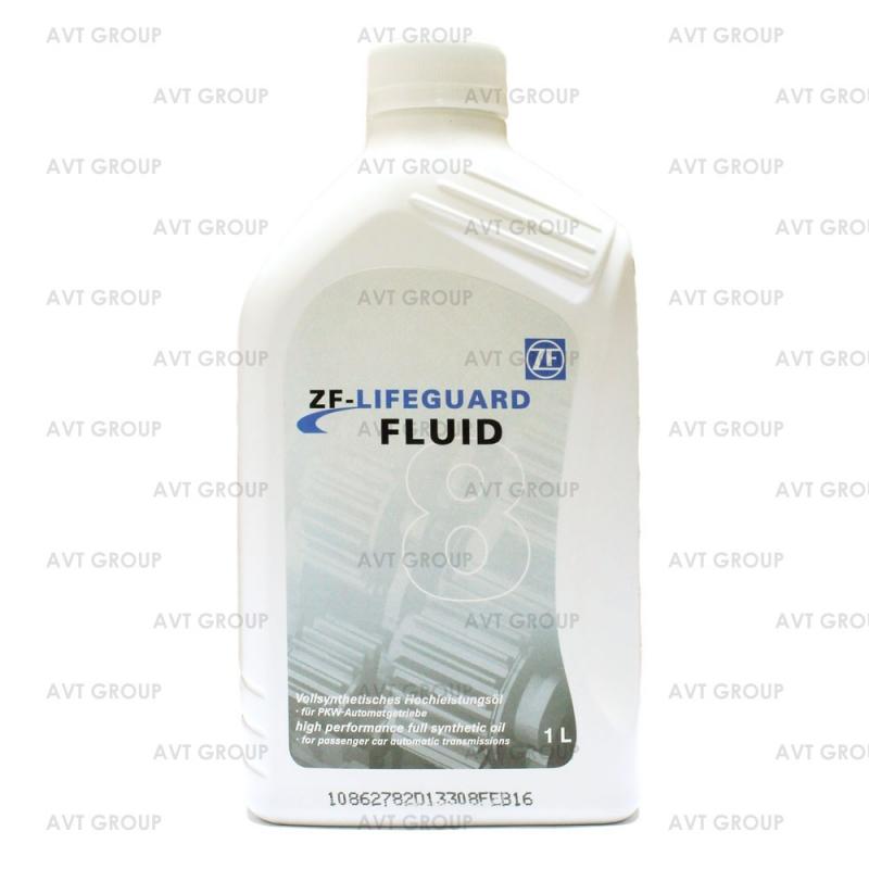 Масло трансмиссионное ZF Lifeguardfluid 8, 1л, S671090312