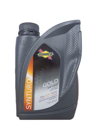 Моторное масло SUNOCO Synturo Gold SAE 5W-40 (1л)