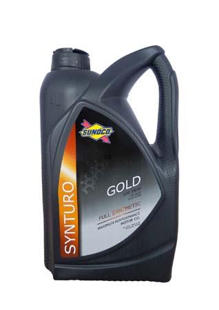 Моторное масло SUNOCO Synturo Gold SAE 5W-40 (4л)