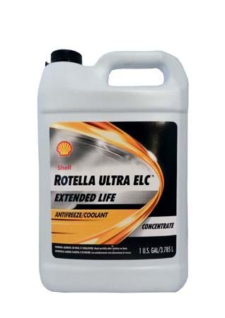 Антифриз концентрированный, оранжевый SHELL Rotella Ultra ELC Antifreeze/Coolant Concentrate (3,785л