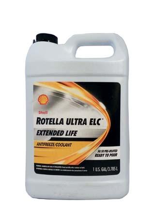 Антифриз готовый к прим.оранжевый SHELL Rotella Ultra ELC Antifreeze/Coolant Pre-Diluted 50/50 (3,78