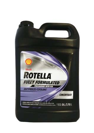 Антифриз концентрированный, синий SHELL Rotella Fully Formulated Coolant/Antifreeze With SCA Concent