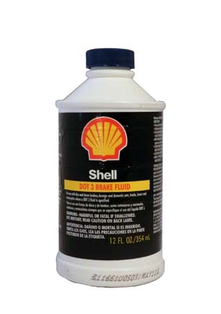 Тормозная жидкость Shell Brake Fluid DOT 3 (0,354 л)