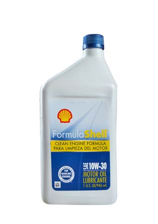 Моторное масло SHELL Formula Shell SAE 10W-30 (0,946л)