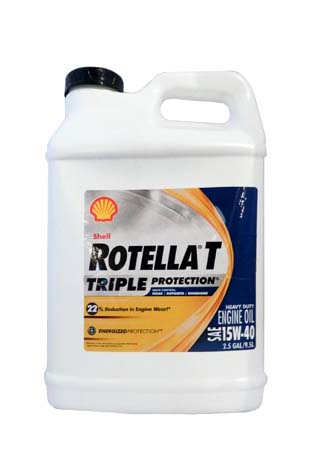 Моторное масло SHELL Rotella T Triple Protection SAE 15W-40 (9,50л)