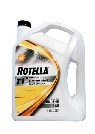 Моторное масло SHELL Rotella T1 40 (3,785л)