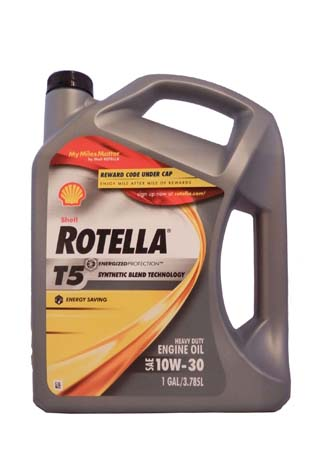 Моторное масло SHELL Rotella T5 SAE 10W-30 (3,785л)
