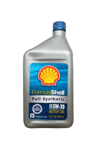 Моторное масло SHELL Formula Shell Full Synthetic Motor Oil SAE 5W-20 (0,946л)